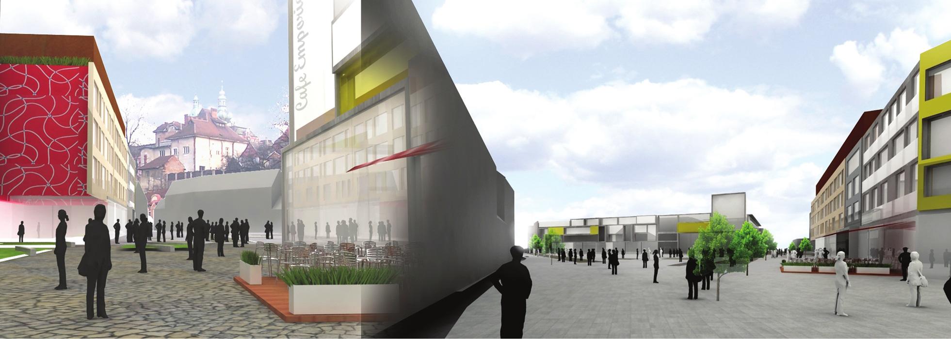 Nové náměstí Ružomberok, Slovensko - Jan Vrbka